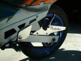GSXF KATANA 600 88-97 HEEL GUARDS