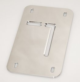 FLAT TAG RELOCATOR REPLACEMENT PLATE OR CUSTOM APPLICATION