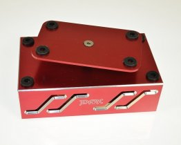 JDARC RED BILLET RC CAR TURNTABLE PIT STAND STD-004