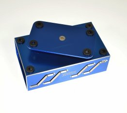 JDARC BLUE BILLET RC CAR TURNTABLE PIT STAND STD-004