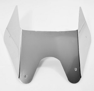 ZX14 ZX14R NINJA 06-20 PLAIN LOWER BELLY PAN WING