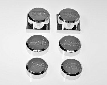 GSXR 1000 05-08 DRESS UP KIT AXLE CAPS DK-304