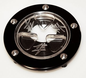 Clear Keyless Fuel Gas Caps ICE Design 4